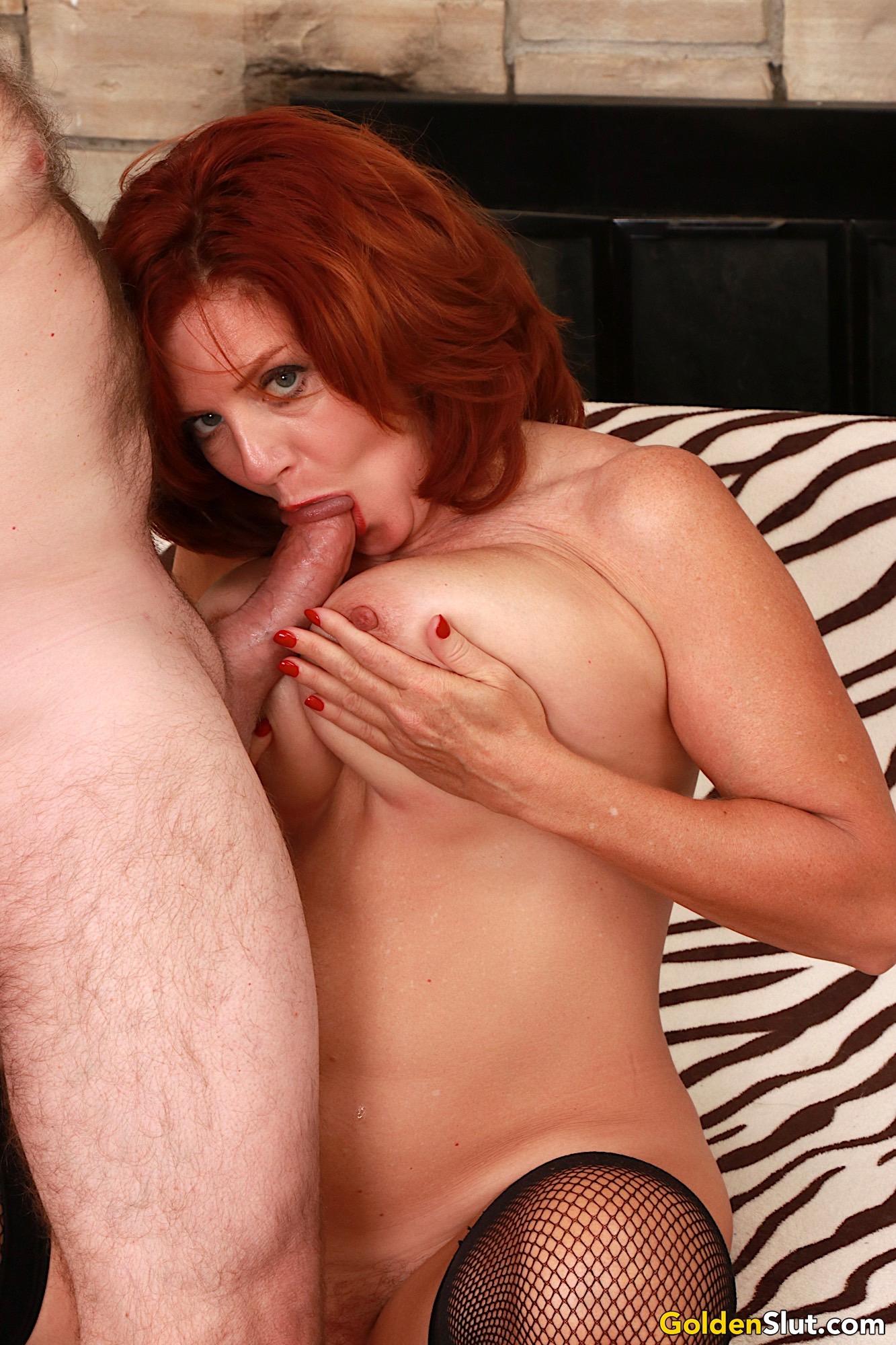 Mature Redhead Big Tits