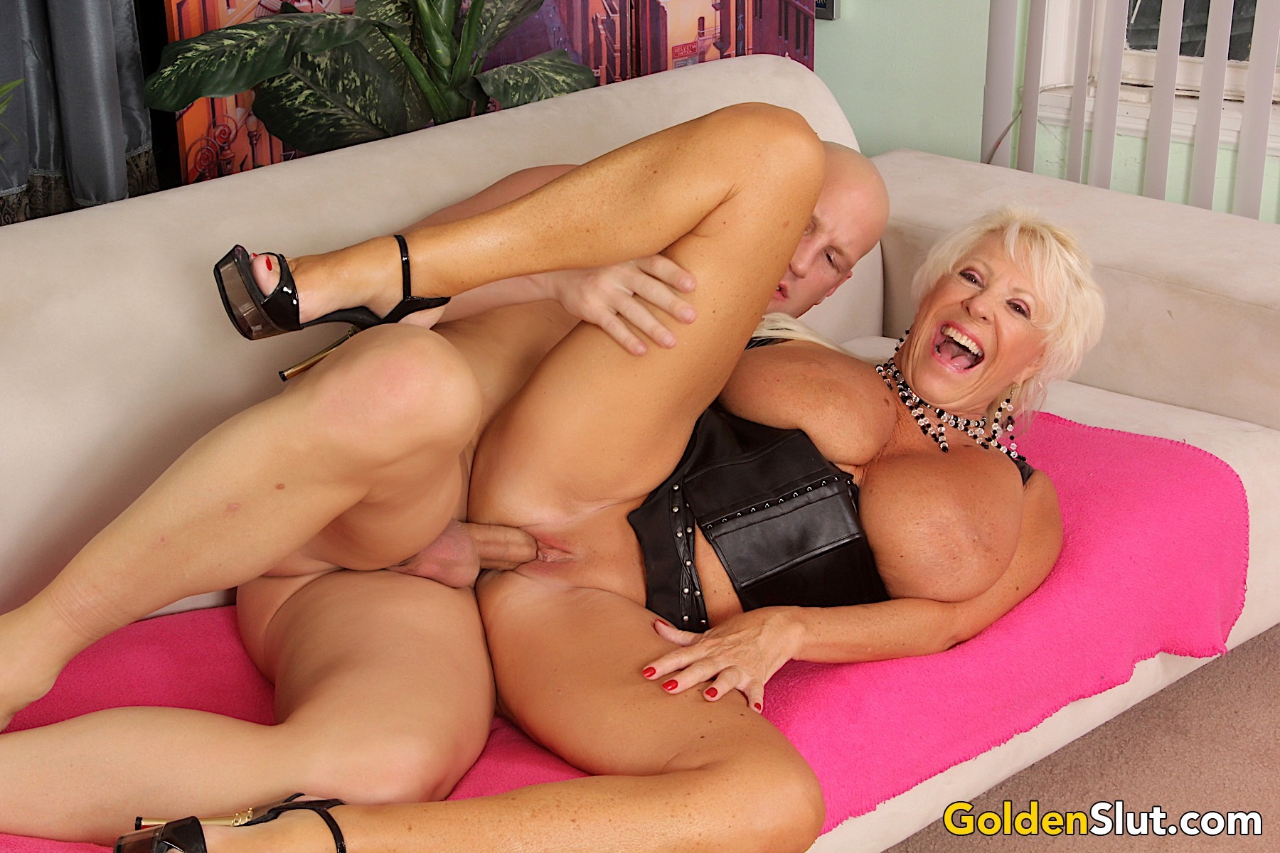 Russian Woman Having Sex